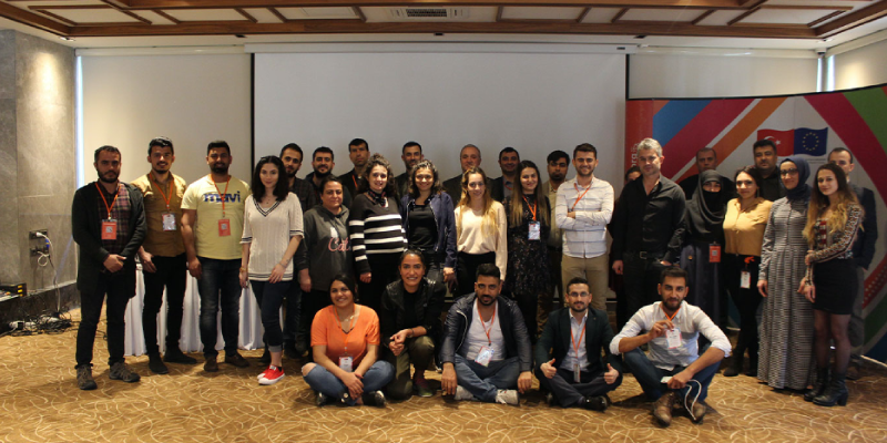 """""""STRONGER CIVIL SOCIETY IN THE FIELD OF MIGRATION """" TRAININGS IN ANTALYA"""