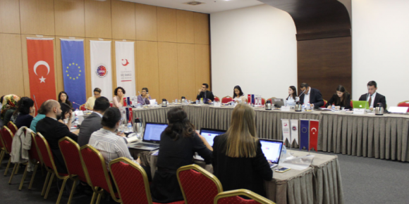 2. STEERING COMMITTEE MEETING OF MIGRATION AND CIVIL SOCIETY PROJECT WAS HELD