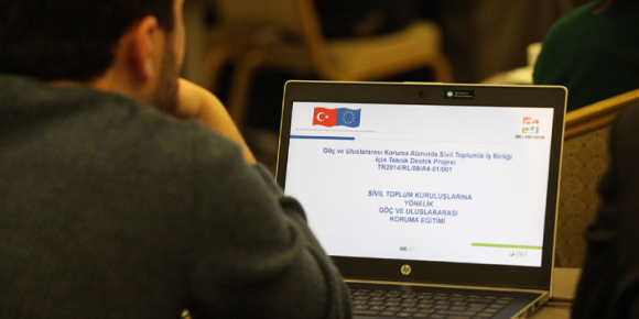 """STRONGER CIVIL SOCIETY IN THE FIELD OF MIGRATION "" TRAININGS STARTED"