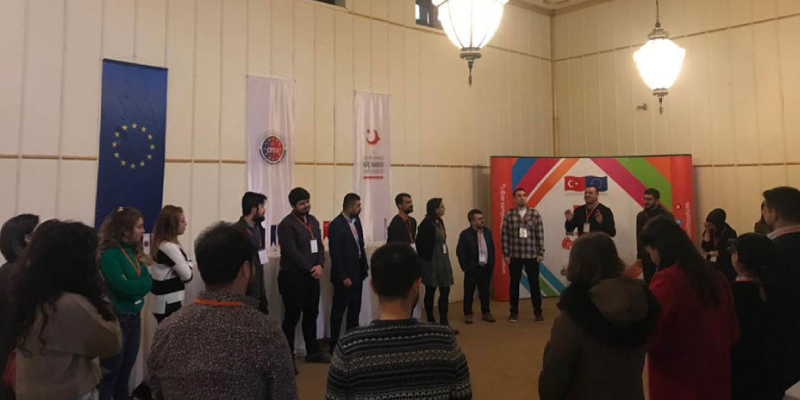 """STRONGER CIVIL SOCIETY IN THE FIELD OF MIGRATION"" TRAINING HELD IN GAZIANTEP"